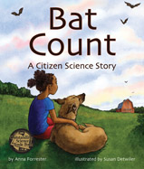It's time for the citizen science bat count! Jojo and her family record the number of bats visiting their barn. Is it a maternity roost?