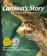This heartwarming photographic journal describes a critically ill sea turtle as she is nursed back to health at a Sea Turtle Hospital, and then, she is returned to her home in the sea!