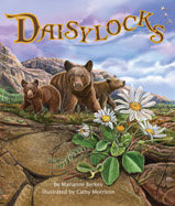 Daisylocks needs the right habitat to grow. The beach is too soft, the rainforest too wet, and the desert too dry. Will she find the place that is just right?
