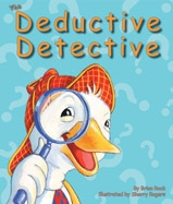 "Help Detective Duck ""quack"" this case! Using deductive reasoning and subtraction skills, Detective Duck must figure out which of the thirteen animals stole a cake from the cake contest."