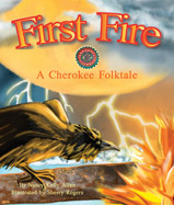 A retelling of a Cherokee pourquoi folktale to explain how we got fire and why some animals look the way they do.