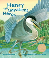 There is a commotion on the lake: he hops, he squawks, and worst of all, he can't stand still! Will the young heron learn to stand still like his elders?