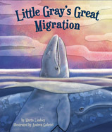 Little Gray loved his lagoon and didn't want to migrate north to a food-filled sea. What happens along the way and how does Little Gray save his mother's life?