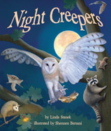 Told with short, lyrical text, young readers learn about crepuscular and nocturnal animals. Older readers learn more about each animal with sidebar information.