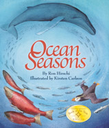 Seasons change in the ocean much as they do on land. In fanciful form, children learn about plants and animals that are joined through the mix of seasons, food webs, and habitats beneath the waves.