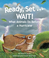 A hurricane forms over ocean. Humans board up windows, gather food and supplies, and then wait for the storm to arrive. But what do wild animals do?