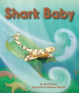 When Shark Baby's egg case tears loose in a storm, he travels ocean habitats to learn what kind of shark he is.