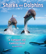 Although sharks and dolphins may look similar they are actually very different types of animals. Author Kevin Kurtz guides readers through the differences and similarities through simple nonfiction text.