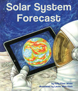 Freezing temperatures, scorching heat, and a storm bigger than planet Earth is just some of the wild weather you will encounter on your trip through our solar system! Get your fun facts along with your forecast for each major planet, as well as the weather on dwarf planet Pluto, and Saturn's moon Titan.
