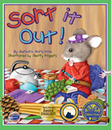 It's time for Packy the Packrat to sort through his ever-growing collection of trinkets and put them away. Told in rhyme, the text leads the reader to participate in the sorting process.