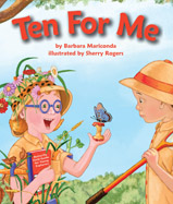 Two friends search for butterflies ... who will catch and release the most butterflies on their addition adventure? Rose learns how to attract butterflies to her. As she finds more and more, Ed finds less and less.