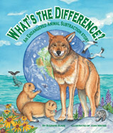 What's the Difference? weaves subtraction and endangered species education into rhyming, cross-curricular family fun.