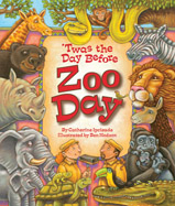 "This delightful adaptation of the children's classic, ""'Twas the Night Before Christmas,"" takes readers to the zoo, as preparations are under way for ""Zoo Day."" But things aren't going according to plan . . ."